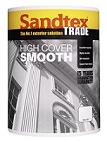 Sandtex Trade  High Cover Smooth B/White